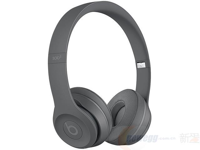 BeatsSolo3WirelessNeighborhood联名款头戴式蓝牙无线耳机手机耳机游戏耳机-沥青灰¥1499