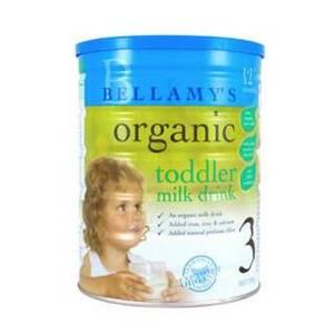 Bellamy's 贝拉米 有机婴幼儿奶粉3段 900g