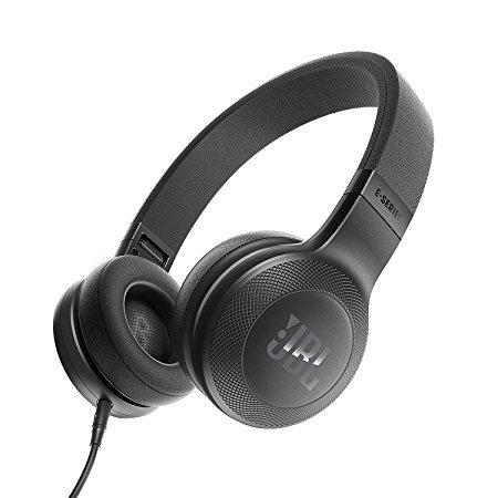 JBL E35 时尚折叠 贴耳式耳机 音乐耳机 一键通话线控 黑色(美国品牌 香港直邮) 359元
