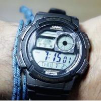 $10.00 (原价$24.95) Casio 卡西欧男士运动腕表 AE1000W-1B