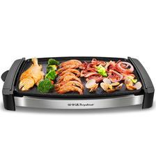 ¥109包邮 荣事达家用韩式多功能无烟炉电烧烤炉铁板烧电烤盘锅烤肉机烧烤