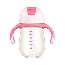 兔头妈妈 婴儿水杯 6个月以上 200ml 粉色 *4件 186元(合46.5元/件)