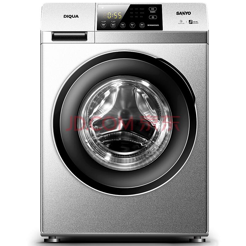 SANYO三洋 WF100BIS565S 10公斤 变频滚筒全自动洗衣机¥2297