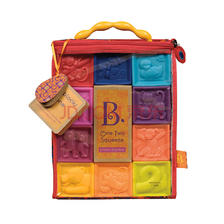 B.Toys 捏捏乐 数字浮雕软积木玩具 86.17元,可3件7折