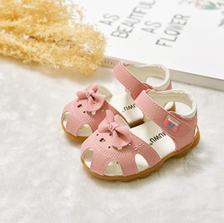 可爱甜美!木木屋 夏季新款女童公主凉鞋 34.9元包邮(49.9-15元券)