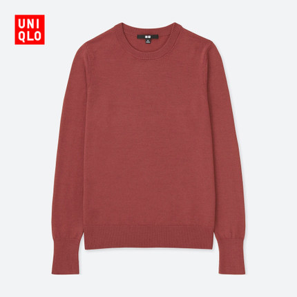 UNIQLO优衣库 400439 美利奴羊毛 女士针织衫 149元包邮 13日0点!
