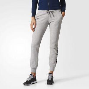 折合115.5元 adidas阿迪达斯 EssentialsLinearPants 女士运动裤