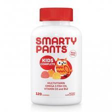 SmartyPants 儿童多种复合维生素软糖120颗 亚马逊海外购 7.1折 直邮中国 ¥119.42