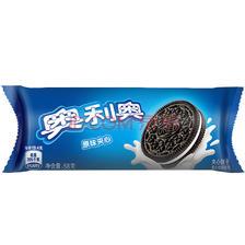 奥利奥Oreo早餐休闲零食蛋糕糕点夹心饼干原味58g 3.5元