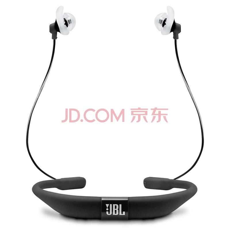 JBL Reflect Fit 无线蓝牙 入耳式运动耳机 心率监测版 来电提醒 防汗防脱落 黑色¥1269