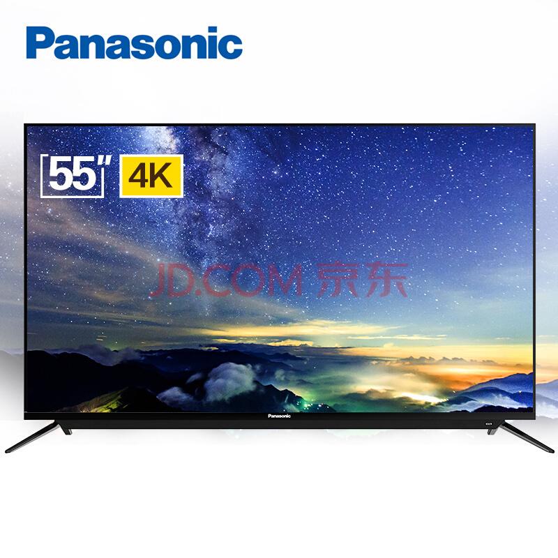 Panasonic 松下 TH-55DX500C 55英寸 4K智能 IPS硬屏电视3548元