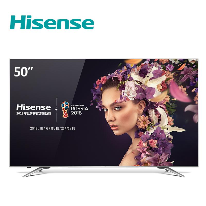双12预告: Hisense 海信 LED50EC720US 50英寸 4K液晶电视 包邮(需用券)2999元