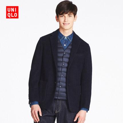 12日0点: UNIQLO 优衣库 401386 男士混纺外套 249.5元包邮