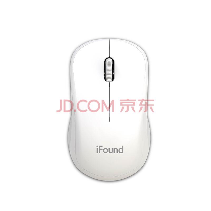 ¥19.9 方正(iFound) W636 无线鼠标 无线光电办公鼠标 白色