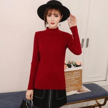 赫嫀 女装长袖套头针织衫
