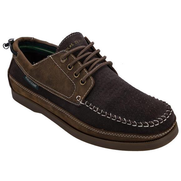 Nicholas Deakins Gibsons 男款真皮休闲鞋 低至£19.49(需凑单用码,约¥175)
