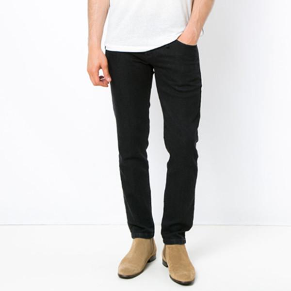 Osklen黑色棉质混纺修身牛仔裤 666.28元包邮包税