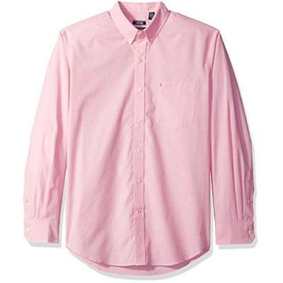 限码福利!IZOD 男士长袖衬衫 $6.83(到手约¥95)