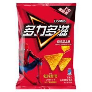 Doritos 多力多滋 休闲零食 玉米片 劲浓芝士味 68g *31件 101.5元(合3.27元/件)