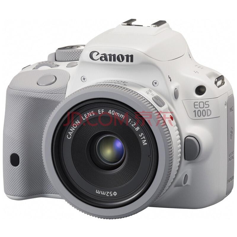 Canon 佳能 EOS 100D 单反套机(EF 40mm f/2.8 STM镜头)3098元