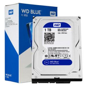 WD 西部数据 WD10EZEX 台式机硬盘 蓝盘 1TB