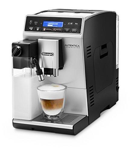 ¥3973 De'Longhi 德龙 Autentica ETAM 29.660.SB全自动咖啡机(数码显示,独立牛奶系统,可拆卸水洗设计,一次萃取两杯咖啡)银色