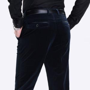 秋冬厚款灯芯绒男士休闲长裤 39.9元包邮 原价139.9元