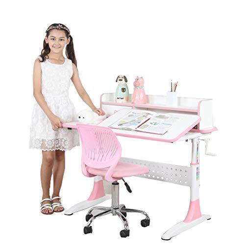 雅客集 智慧之星带抽屉书架儿童成长书桌 898.4元