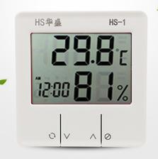 华盛 高精度家用温湿度计 带闹钟 ¥11