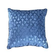 舒为居 四扇门全棉时尚靠垫 沙发抱枕 办公室午睡靠枕 床上靠枕-复古蓝(供
