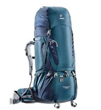 穿越常备!deuter 多特 男专业登山徒步透气背包 3320716 85L 好价1187.5元包邮(