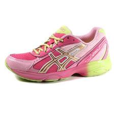 苏宁易购 ASICS女跑步鞋跑步 粉色 37.5码+ASICS女跑步鞋跑步蓝色300元包邮(已