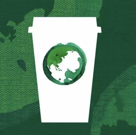 星巴克 4月22日地球日免费饮活动 需自带杯子