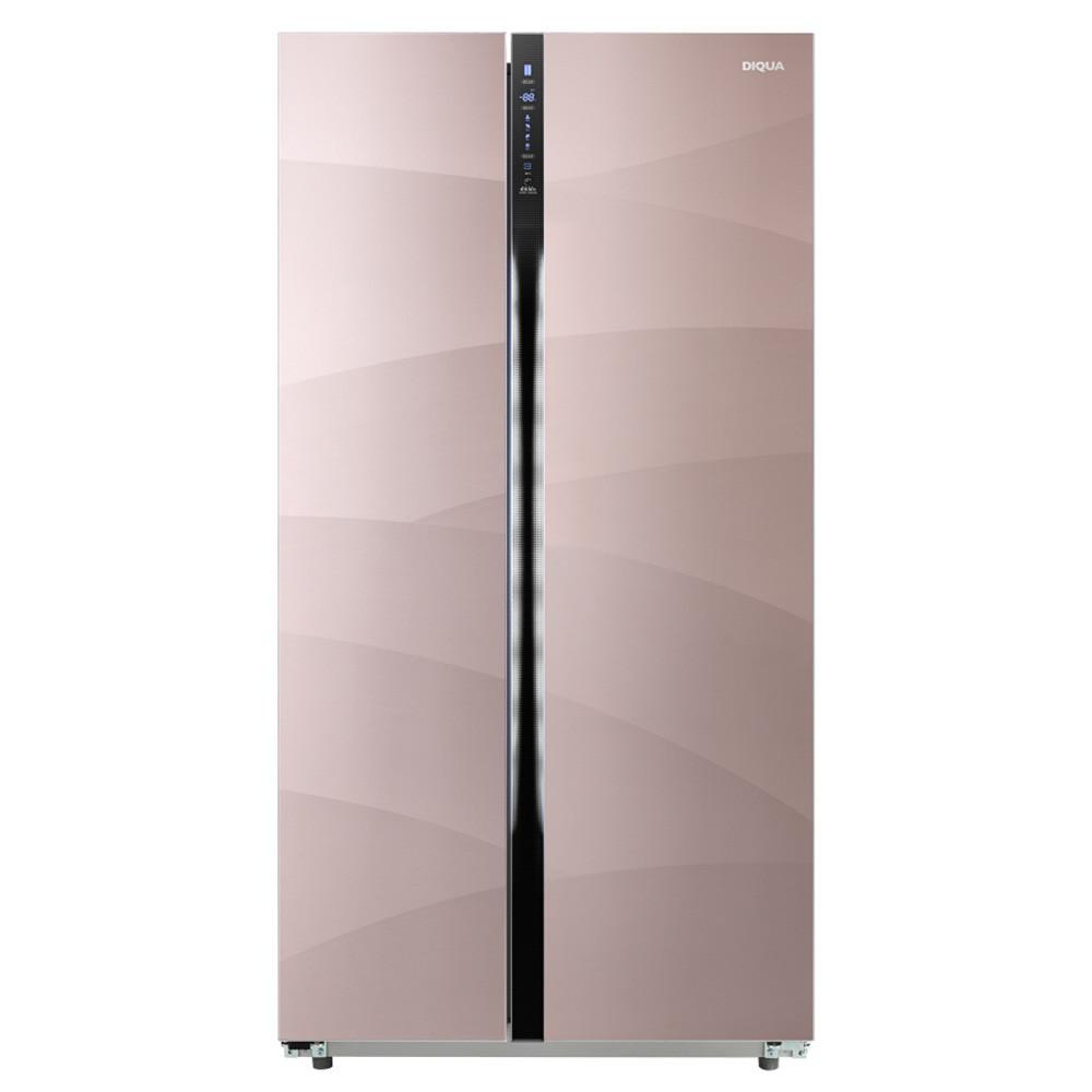 限上海:帝度(DIQUA)BCD-592WDGBI592对开门 变频冰箱 郁香紫¥5400