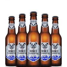 熊猫王 国产精酿啤酒 12度全麦芽精酿高度数 330ml*6瓶装 券后39元包邮(6.5/瓶