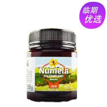 新西兰进口 NUMELA 纽蜜乐 麦卢卡蜂蜜灌木混合蜂蜜/毛榉树蜂蜜 250g/瓶