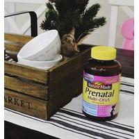 $18.97 备孕 & 准妈妈们必备 超值:Nature Made 孕产期综合维生素+ DHA软胶囊(90粒)2瓶