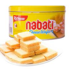 丽芝士(Richeese) nabati 纳宝帝 奶酪味威化饼干 170g 5元