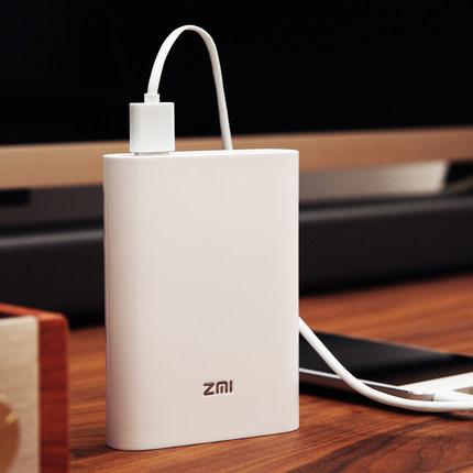 ZMI MF855 7800毫安 全网通 移动电源/随身路由+ZMI 10W USB快充 待机长 ¥299
