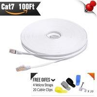 $5.97 起 CableMonsta Cat7 扁平网线 送理线配件