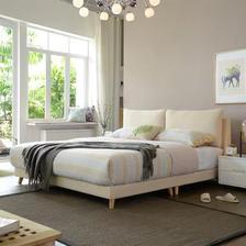 A家家具 DA0120-180 可拆洗软靠床 (1.8米床) ¥1449