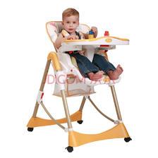 ¥358 Aing 爱音 儿童餐椅 C002(C002s) 橘色(适合0~4岁)