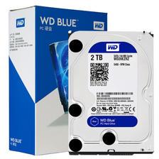 西部数据(WD) WD20EZRZ 台式机硬盘 蓝盘 2TB ¥364