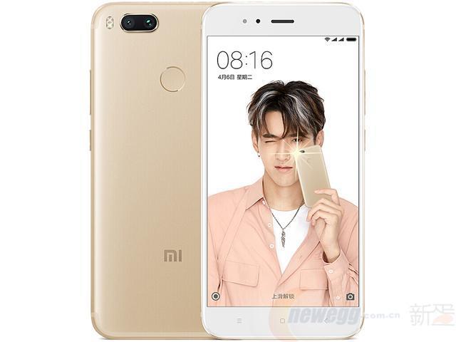 小米MI小米5X手机金色全网通4G4GRAM+64GROM标配版-新蛋中国¥1289
