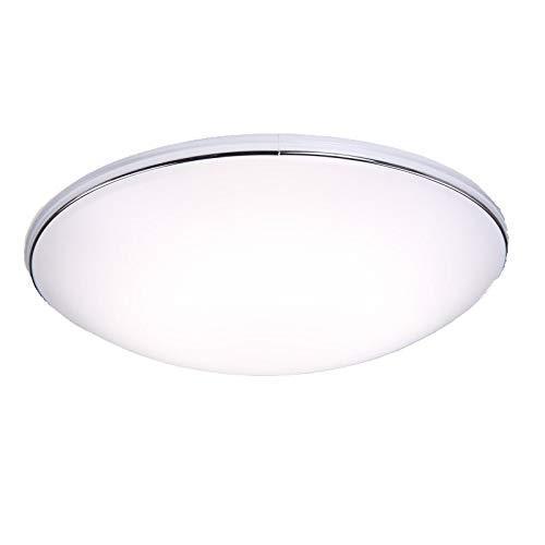 中亚Prime会员: 松下(Panasonic)19W HHLA1625/HH-LA1625CBW01 现代简约LED吸顶灯(白色带银色装饰带) 139.3元