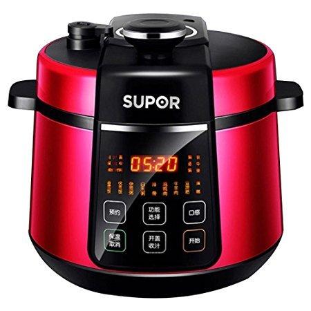 苏泊尔(SUPOR) 电压力锅 5L CYSB50YC520Q-100 红269元