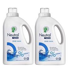 Neutral 挚纯 浓缩纯净洗衣液750g*2瓶 无香精 无色素 无荧光增白剂(进口) 99元