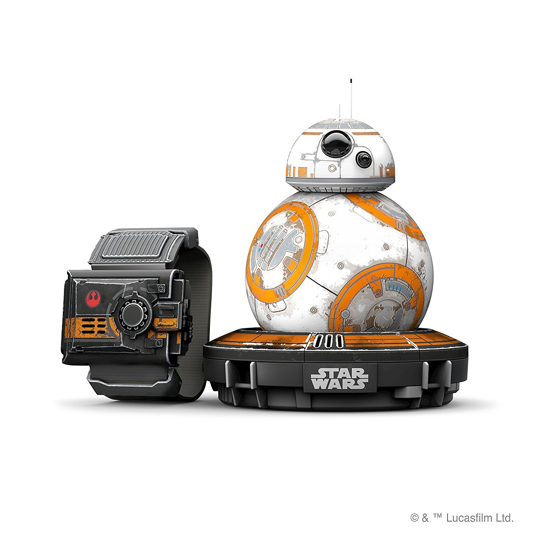 折合401.93元 Sphero Star Wars 星球大战 BB-8 遥控智能球型机器人(战损版、附带原力手环)