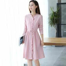 当当网商城 YANWO 女装纯棉花边中长款连衣裙68元包邮 已降100元