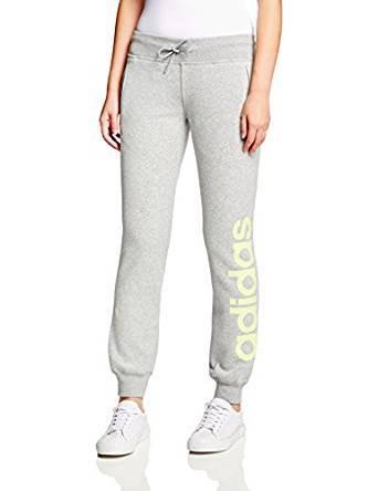 adidas 阿迪达斯 ESSENTIALS 女式 休闲长裤 B49866 中麻灰 16Q4 ESS L PANT BRU 120.6元